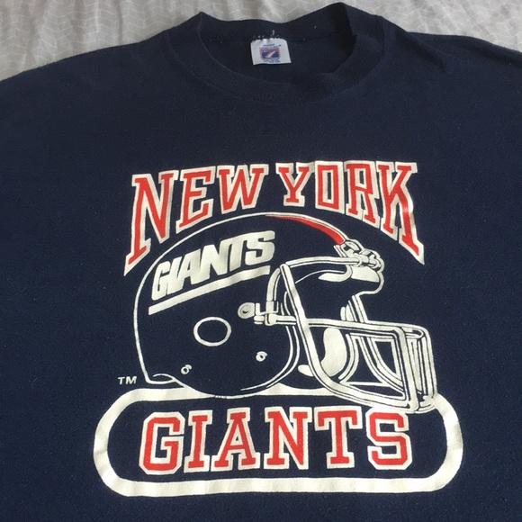 san francisco 6264d d566a Awesome Logo 7 vintage / New York Giants 🏈 NFL